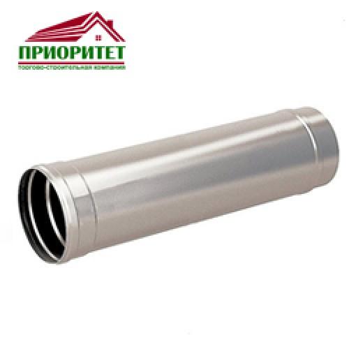 Труба для дымохода из стали L = 1м